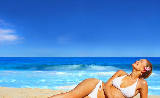 אישה בחופשה (צילום: אימג'בנק / Thinkstock)