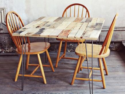 שדרוג שולחן אוכל, עצים שולחן