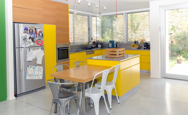 סיטון, מטבח צהוב (צילום: ירון ולרשטיינר)