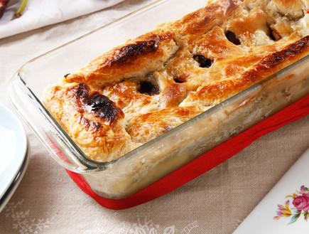 מאפה עוף, פטריות ותאנים (צילום: אפיק גבאי, אוכל טוב)