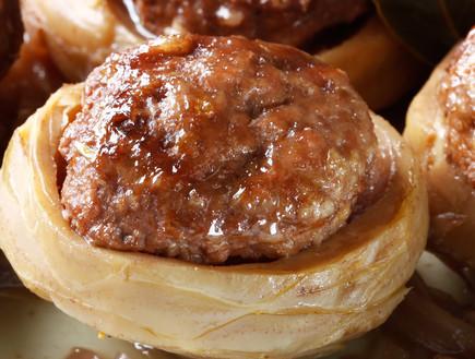 תחתיות ארטישוק ממולאות פרגית וערמונים (צילום: אפיק גבאי, אוכל טוב)