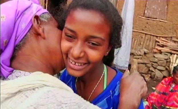 חגיגות פסח ליל הסדר באתיופיה (צילום: חדשות 2)