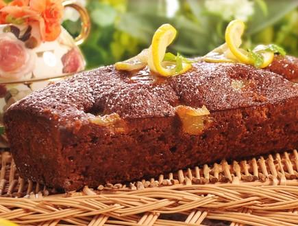 עוגת דבש ולמון גראס של קונדיטוריה שני