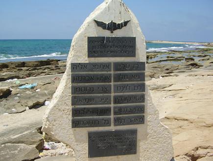 מבצע שירת הצפצפה אסון השייטת אנדרטה