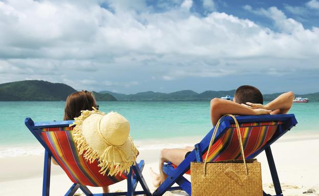 זוג בחופשה (צילום: אימג'בנק / Thinkstock)