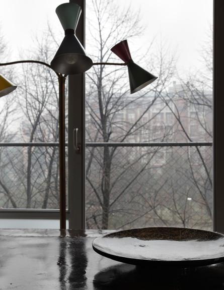 לופט בית חרושת, פינת אוכל חלון גובה