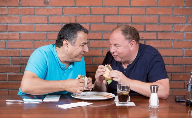 חיים כהן והראל ויזל (צילום: בני גם זו לטובה, אוכל טוב)