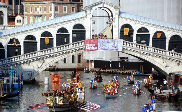 גונדולה בוונציה (צילום: Sakchai Lalit | AP)