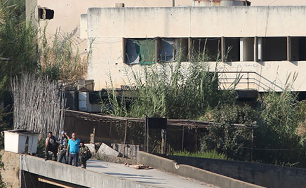 בסיס הארגון הפלסטיני בלבנון, היום (צילום: AP)