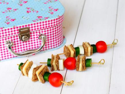 שיפודי סנדוויץ' (צילום: שרית נובק, אוכל טוב)
