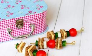 שיפודי סנדוויץ' (צילום: שרית נובק - מיס פטל, אוכל טוב)