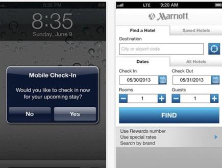 אפליקציית מריוט, מלונות העתיד