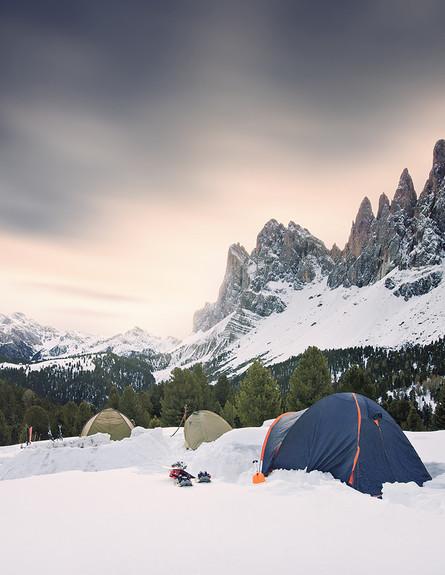 מחנה, האלפים (צילום: Lukas Furlan)