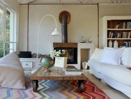 בתים לחג, רנה דוקטור סלון ספה, צילום שי אדם