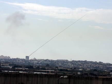 מבצע עופרת יצוקה ירי רקטה על ישראל