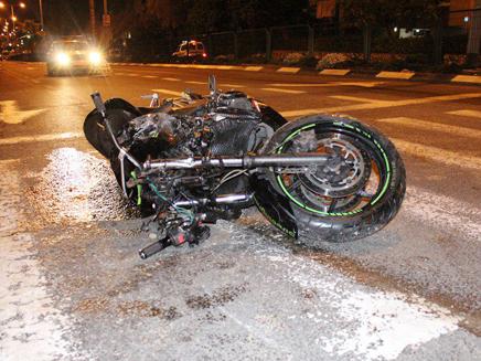 2 הרודים בתאונה. אילוסטרציה (צילום: משטרת ישראל)