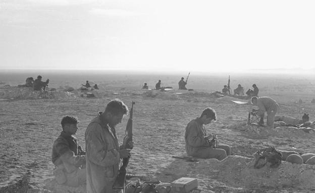 """מבצע קדש (צילום: אברהם ורד, ארכיון צה""""ל ומערכת הביטחון)"""