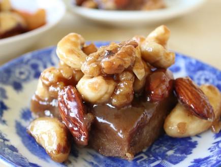 חיתוכיות אגוזים ומייפל (צילום: מור כהן, אוכל טוב)