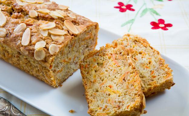 עוגת גזר ואגוזים (צילום: בני גם זו לטובה, אוכל טוב)