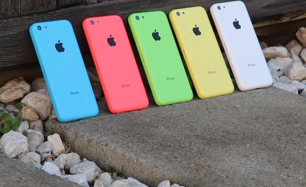 אייפון 5S, אייפון 5C