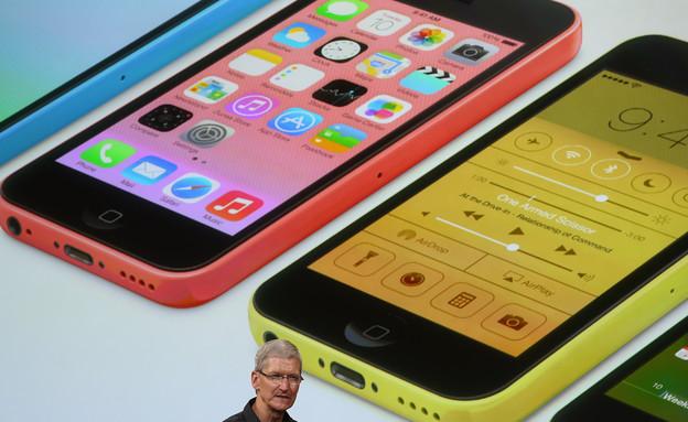 אייפון 5C (צילום: Justin Sullivan, GettyImages IL)