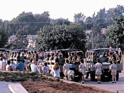 מלחמת יום כיפור לוויה ב קיבוץ גבעת חיים איחוד