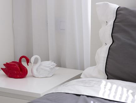 אורנית, חדר שינה ברבורים