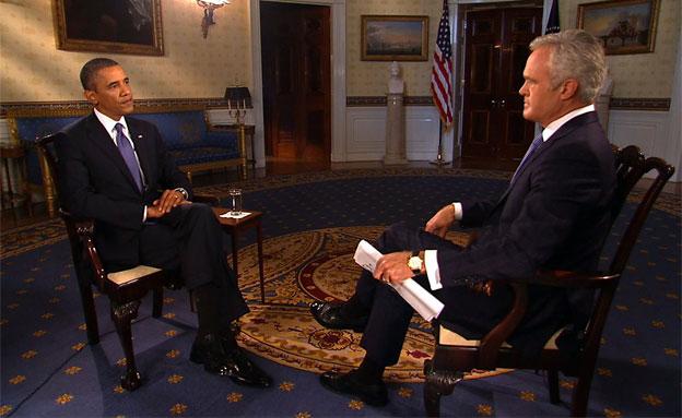 ברק אובמה (צילום: חדשות 2)