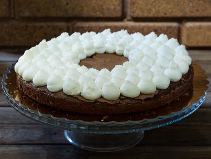 עוגת שוקולד וקפה בחושה