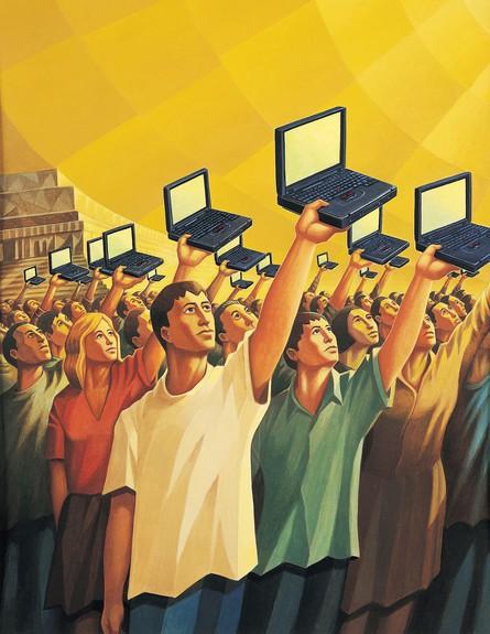 חכמת ההמונים (צילום: Digital Vision., GettyImages IL)