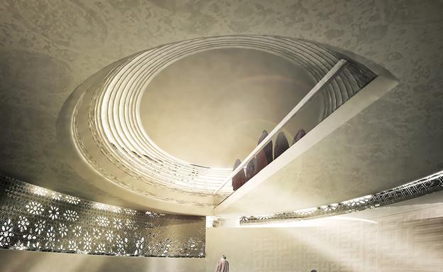 מבני דת, מסגד טהרן, תקרה (צילום: CAAT Architecture Studio)