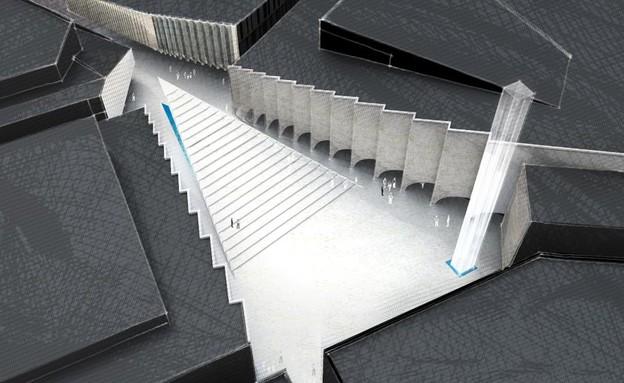 מבני דת, המסגד הנעלם מדרגות (צילום: ruxdesign)