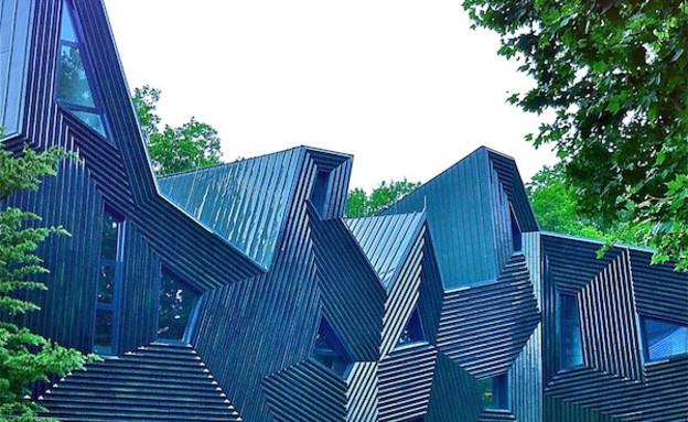 מבני דת, בית כנסת מנואל הרץ חוץ, Manuel Herz Architects (צילום: Iwan Baan)