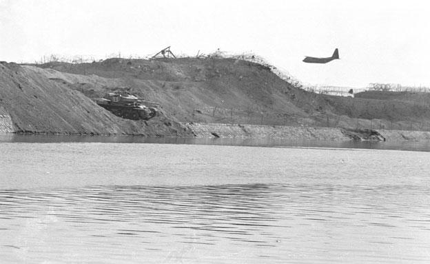 מלחמת יום כיפור תעלת סואץ (צילום: חדשות 2)