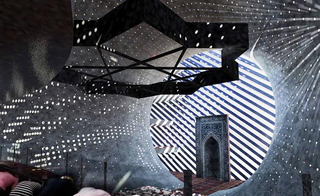 מבני דת, מסגד קוסובו, פנים, www.paoloventurella (צילום: www.paoloventurella.it)