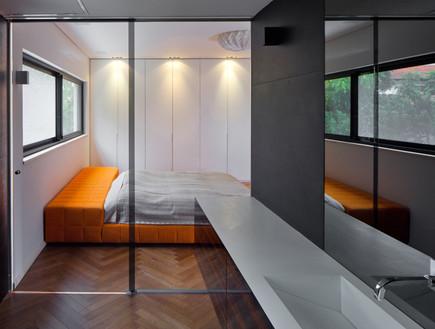טופלסקי, חדר שינה (צילום: עוזי פורת)