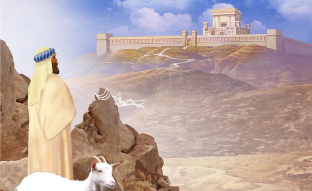 בית המקדש - אחרי מות (צילום: ציור וקסברגר)