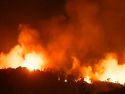 עוד אסון אש. אילוסטרציה (צילום: חדשות 2)