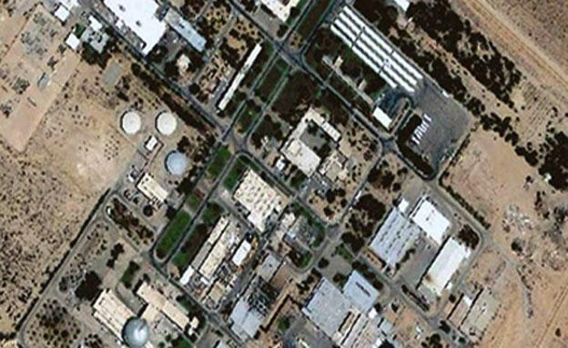 """הכור בדימונה. """"מסוגל לייצר עד 190 פצצות"""" (צילום: משרד האדריכלים ד. איתן / ר. להב-ריג)"""
