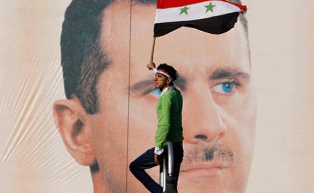 סוריה מברכת על ההסכם (צילום: AP)