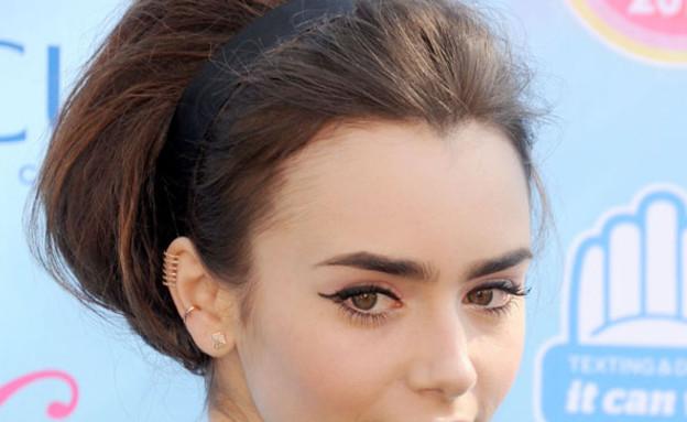 לילי קולינס- שיער סתיו (צילום: cosmopolitan.com,)
