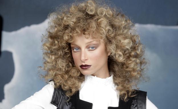יוליה פלוטקין בקמפיין אופנה (צילום: אמיר לוי)