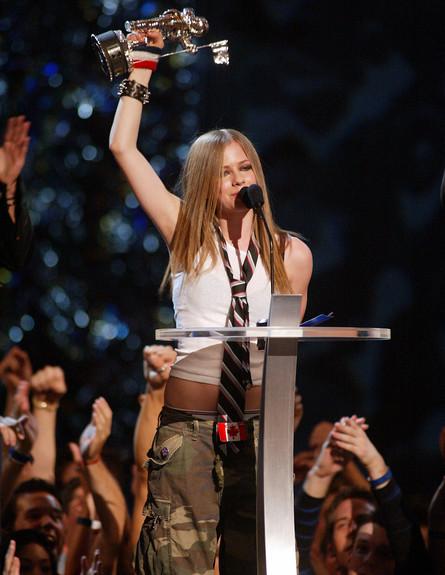 2002. זוכה בטקס פרסי MTV (צילום: Scott Gries, GettyImages IL)
