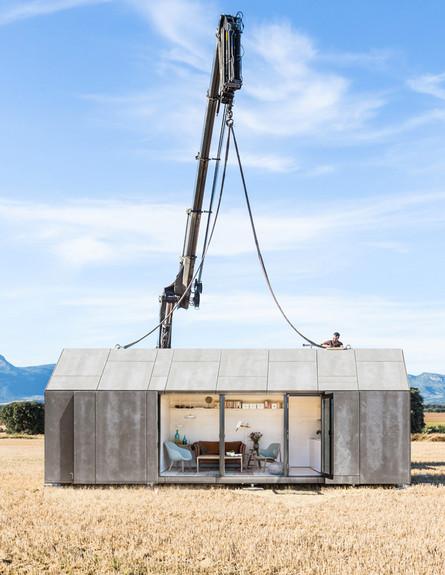 בית במנוף, מנוף גובה (צילום: www.abaton.es)