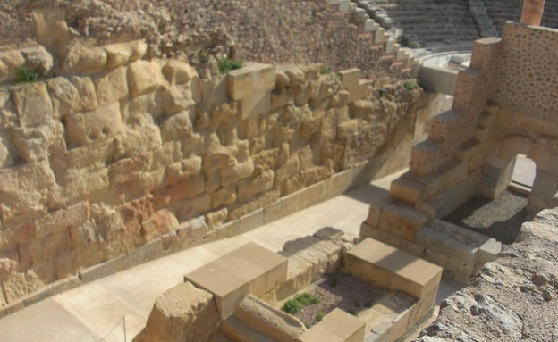 שרידי התיאטרון הרומי, דרום ספרד, צילום לירון מילשטיין (צילום: לירון מילשטיין)