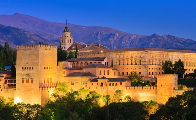 ארמון אלהמברה, דרום ספרד, קרדיט אימג'בנק טיסטוק (צילום: אימג'בנק / Thinkstock)