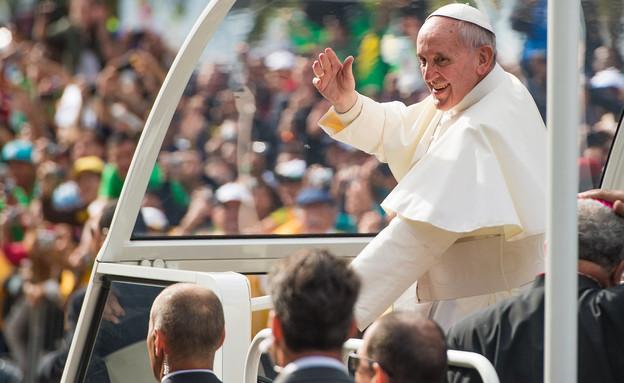 האפיפיור פרנציסקוס בריו דה ז'נרו (צילום: Buda Mendes, GettyImages IL)