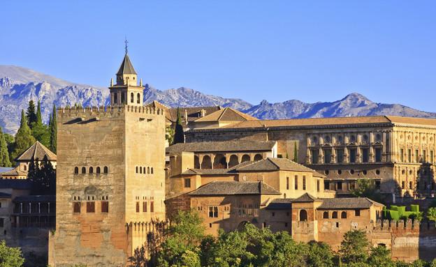 ארמון אלהמברה, מבט מלמעלה, דרום ספרד, צילום לירון מילשטיין (צילום: אימג'בנק / Thinkstock)