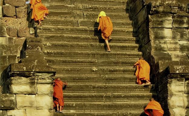 אנגקור, מדרגות בעולם, קרדיט אימג'בנק טינסטוק (צילום: אימג'בנק / Thinkstock)