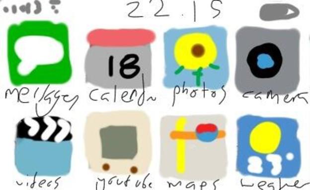 iOS 7 , תגובות (צילום: twitter)